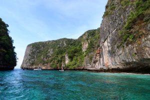 Bucht auf Ko Phi Phi Leh, Thailand