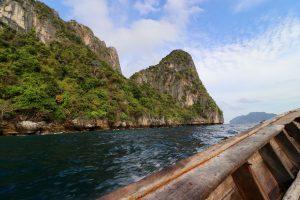 Bootfahrt auf Ko Phi Phi, Thailand