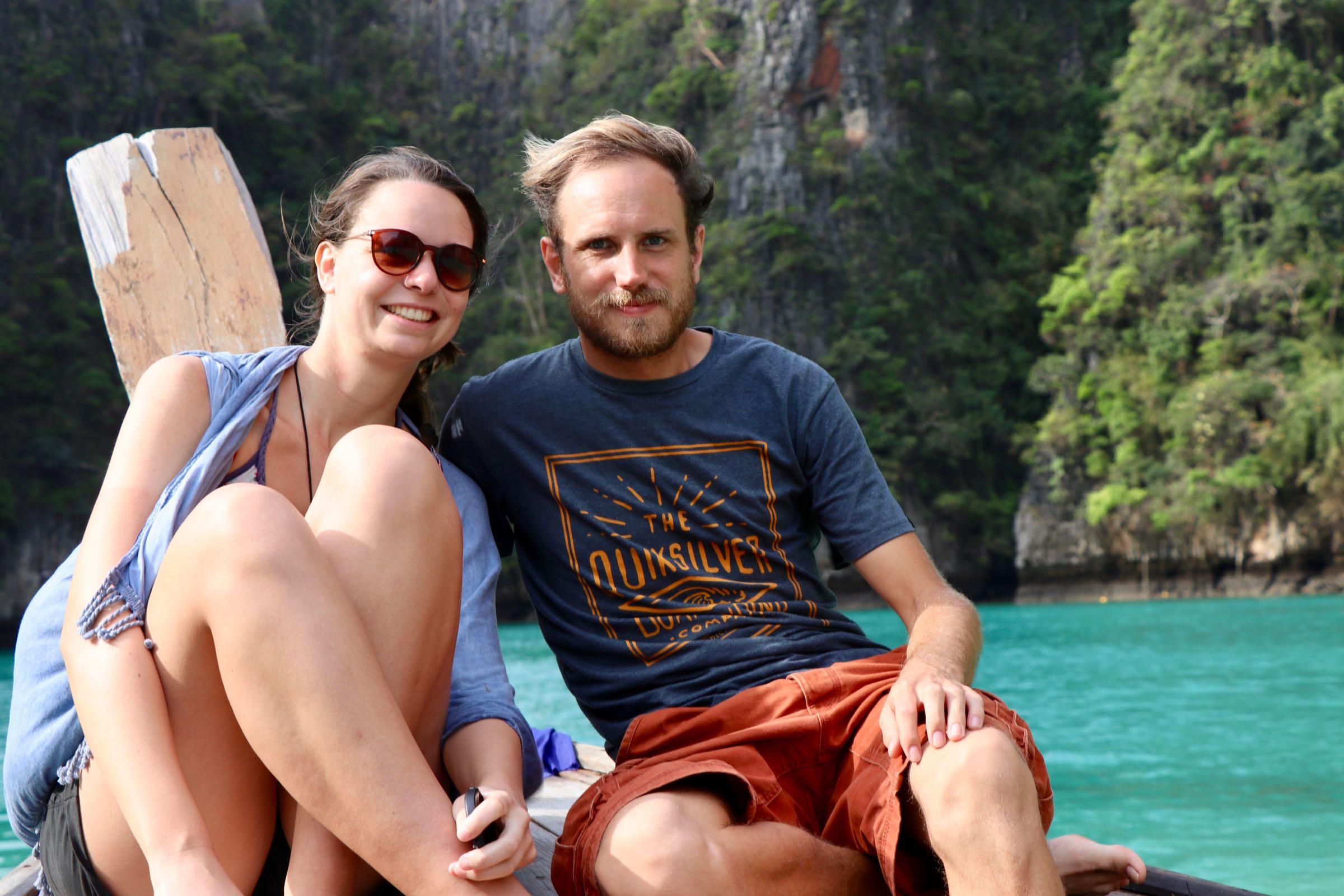 Julia & Matthias, Ko Phi Phi Leh, Thailand