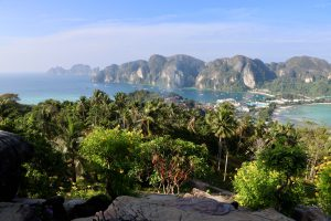 Blick über Ko Phi Phi, Thailand