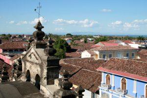 Blick vom Glockenturm in Granada, Nicaragua