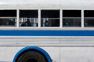 Bus in La Ceiba, Atlántida, Honduras