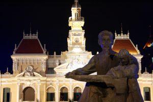 Rathaus von Ho-Chi-Minh-Stadt, Vietnam