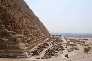 Chephren-Pyramide, Gizeh, Ägypten