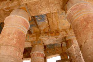 Malereien im Karnak-Tempel, Luxor, Ägypten