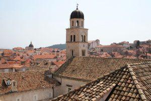 Blick über Dubrovnik, Dalmatien, Kroatien