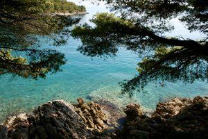 Bucht in Dalmatien, Kroatien
