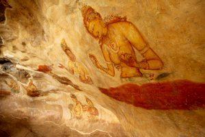 Fresken von Sigiriya, Sri Lanka