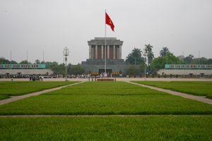 Hồ-Chí-Minh-Mausoleum, Hanoi, Vietnam