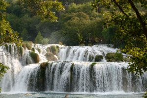 Wasserfälle im Nationalpark Krka, Kroatien