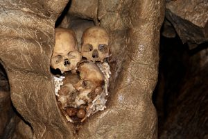 Grabhöhle in Tana Toraja, Sulawesi, Indonesien