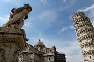 Dom und Schiefer Turm von Pisa, Toskana, Italien