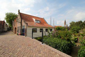 Straße in Edam, Nordholland, Niederlande