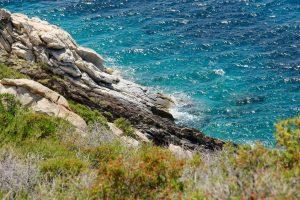 Küste von Elba, Toskana, Italien