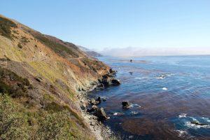 Küste von Big Sur, Kalifornien, USA