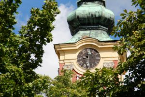 Glockenturm der Belgradkathedrale, Szentendre, Ungarn