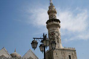 Minarett der Umayyaden-Moschee, Damaskus, Syrien
