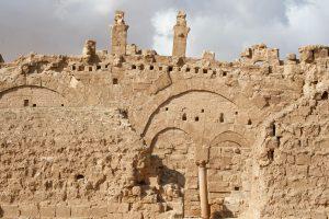 Ruine in Resafa, Syrien