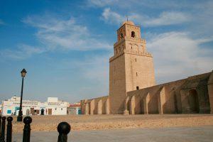 Große Moschee von Kairouan, Tunesien